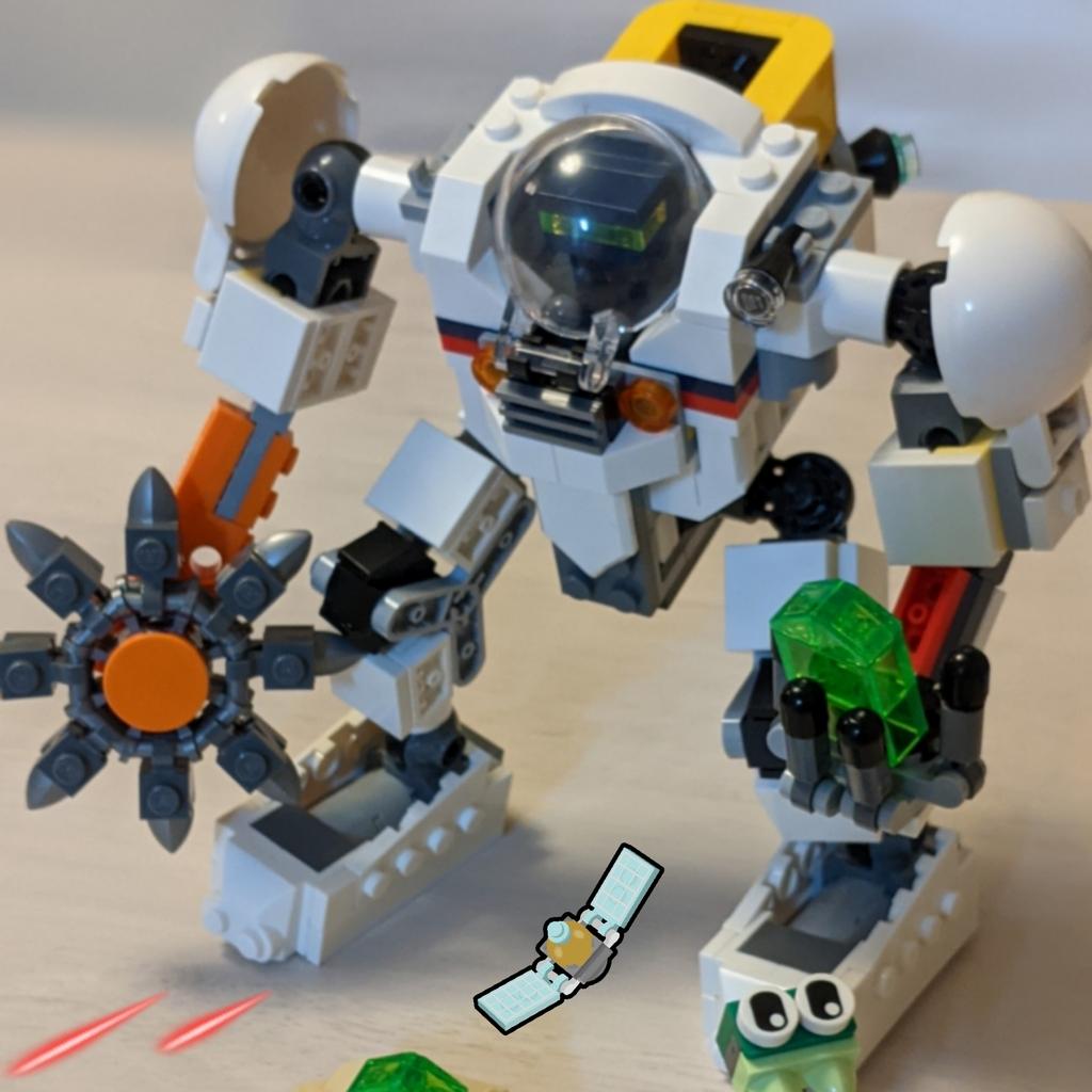 宇宙探査ロボット