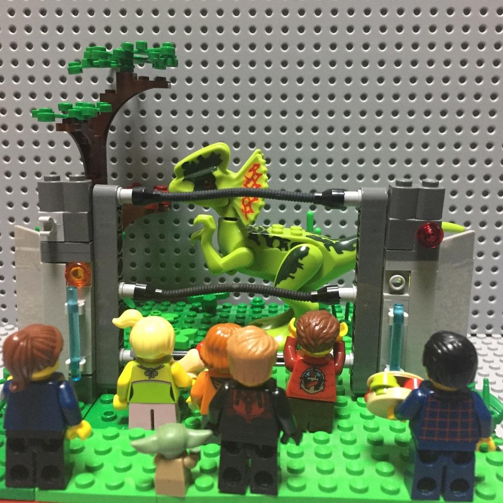 Jurassic Park Moc