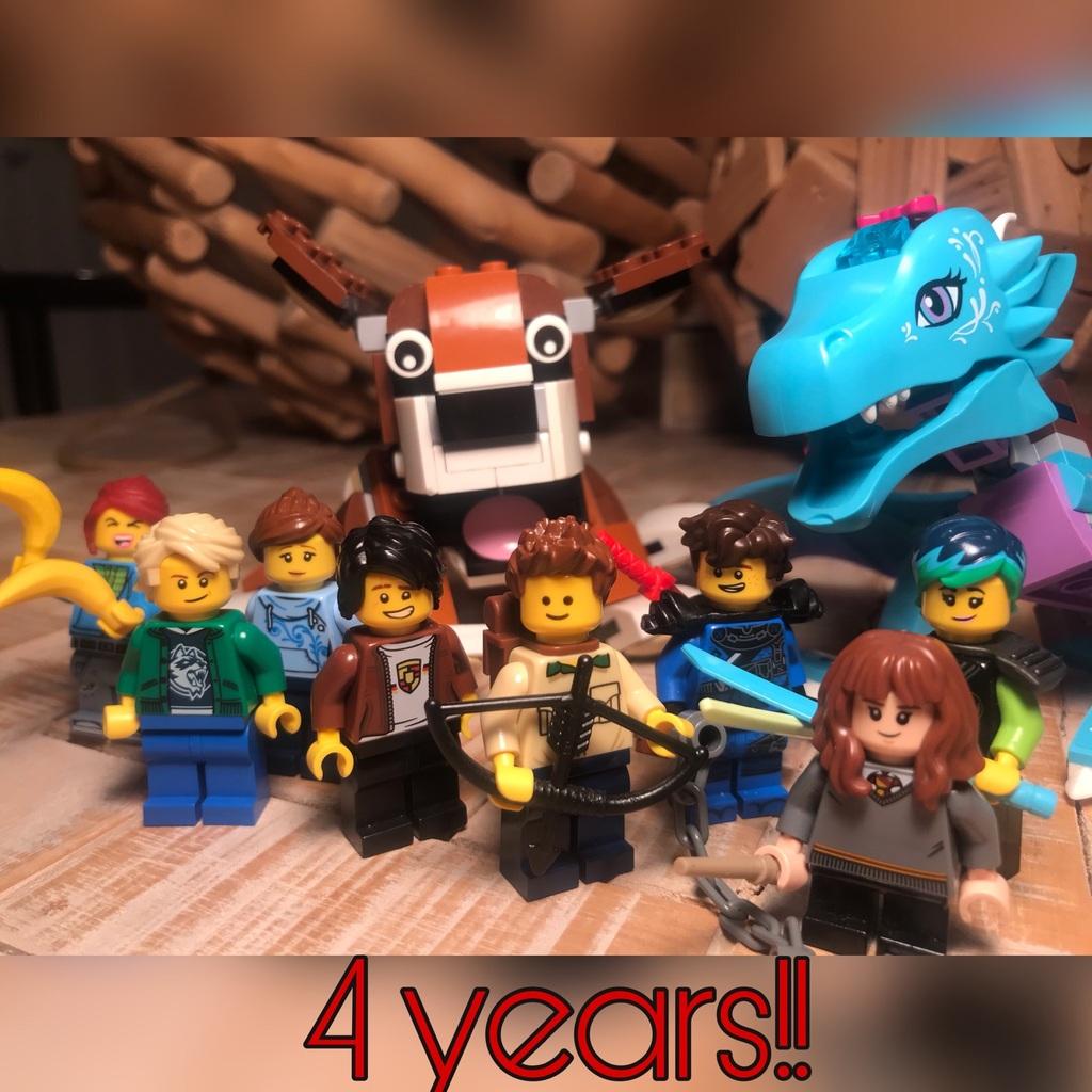 4 years on LEGO Life!