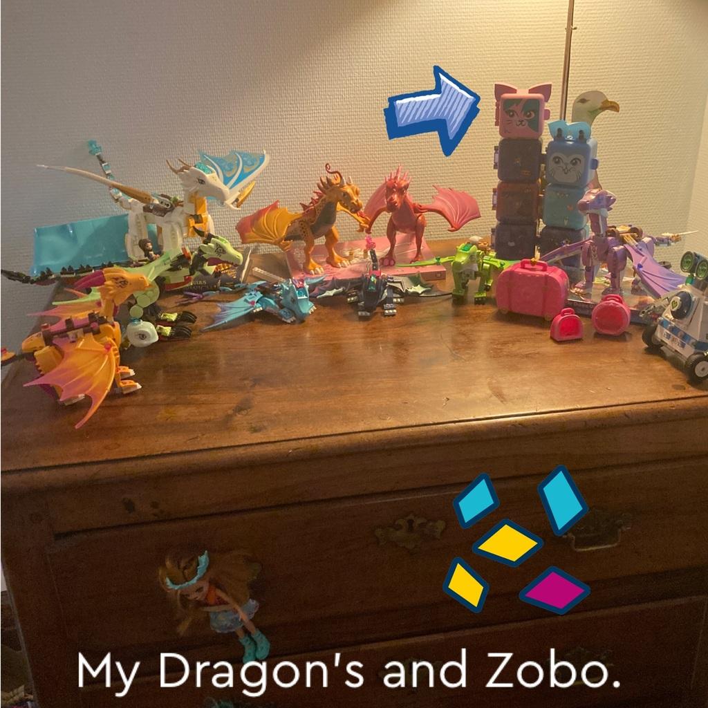 My dragon's Home.