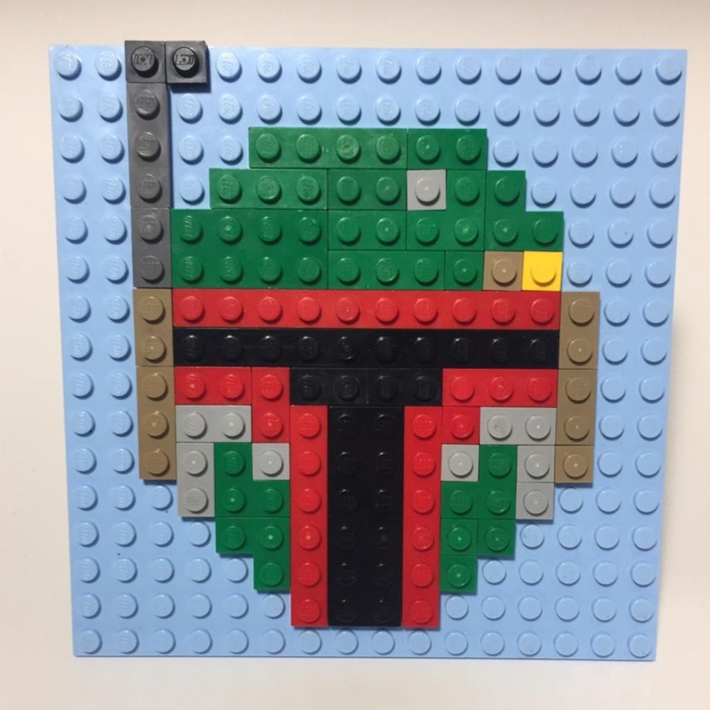 Boba fett pixel Art!