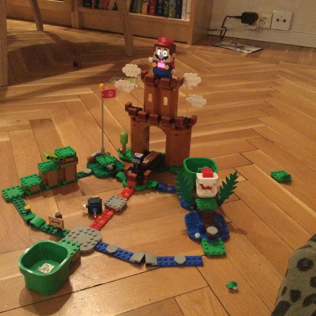 Lego super Mario city!!!