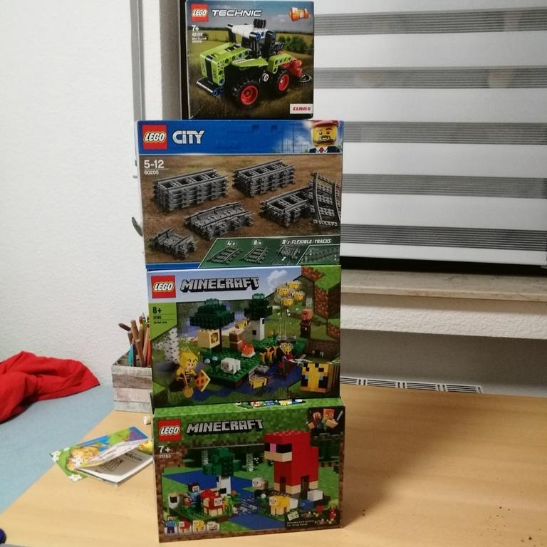 Meine Lego Geburtstagsgeschenke
