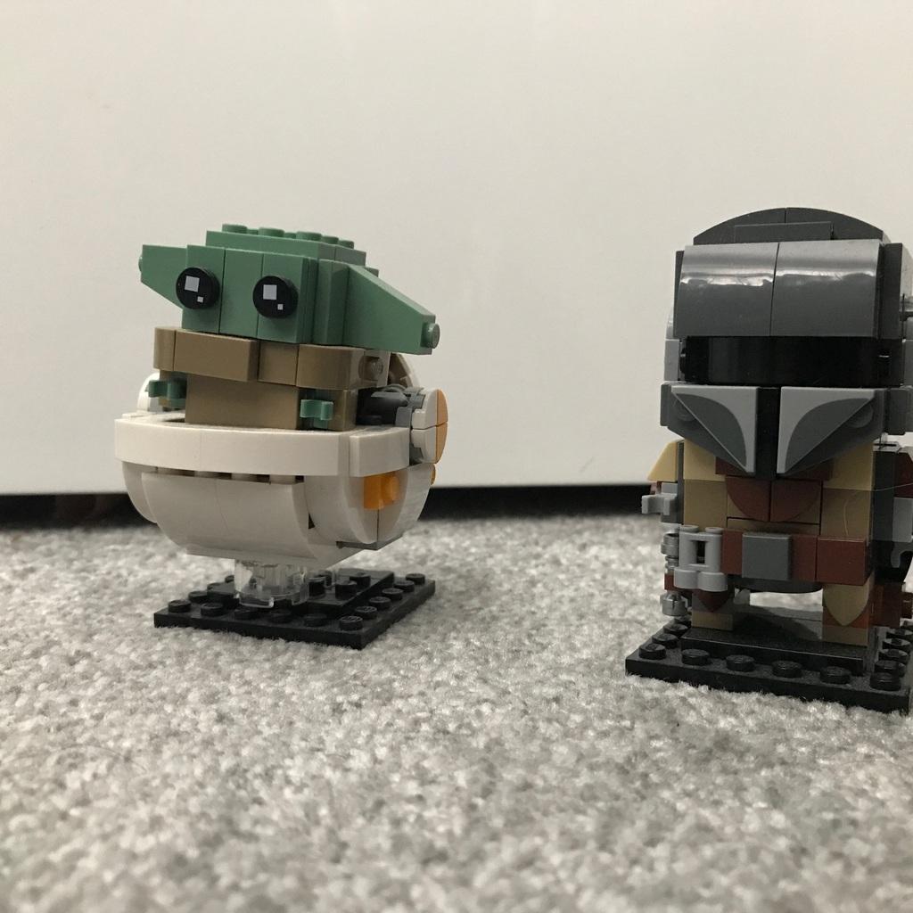 Baby Yoda X Lego