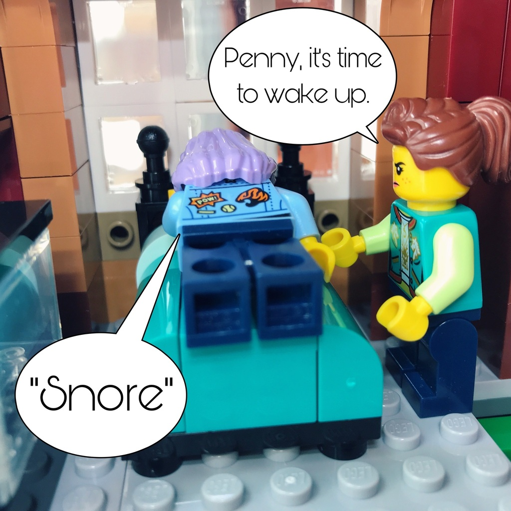 Waking Up Penny