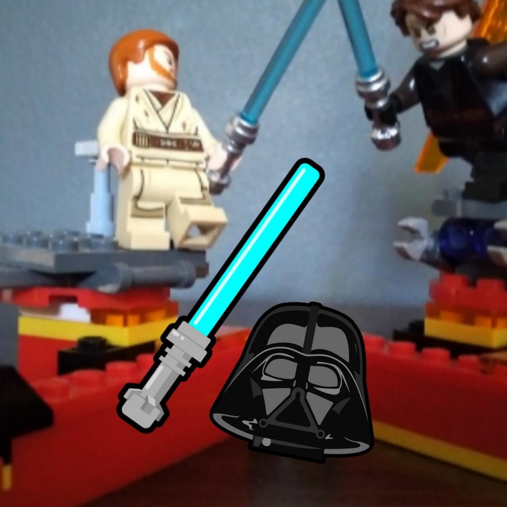 Lego Star Wars Esena de batalla
