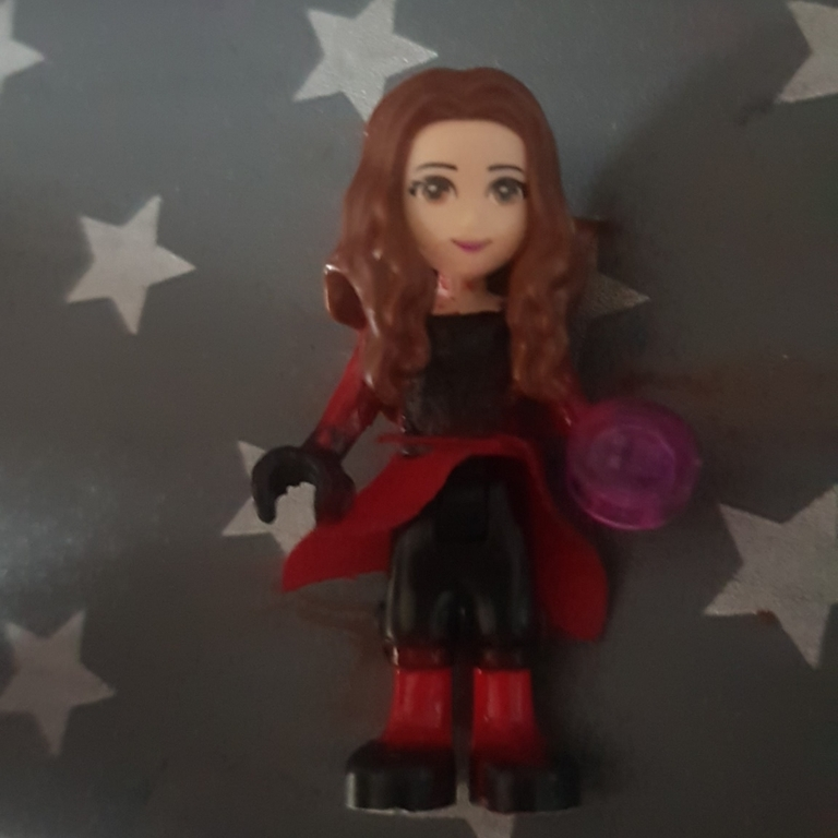 Scarlet witch minidoll
