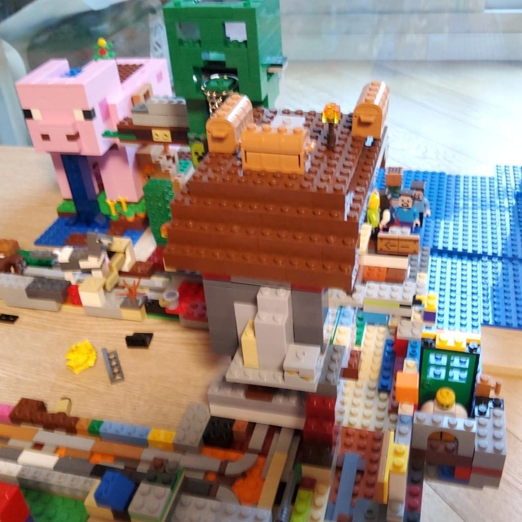 레고 마인크래프트 시티