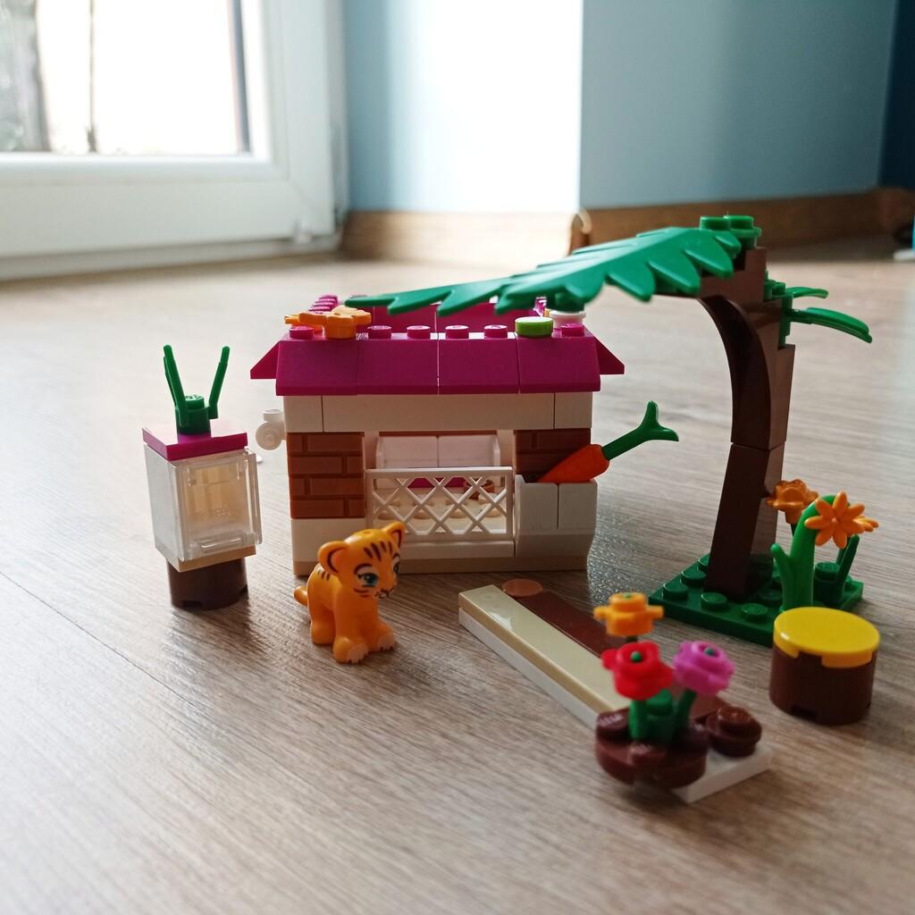 Mini domek dla Tygryska