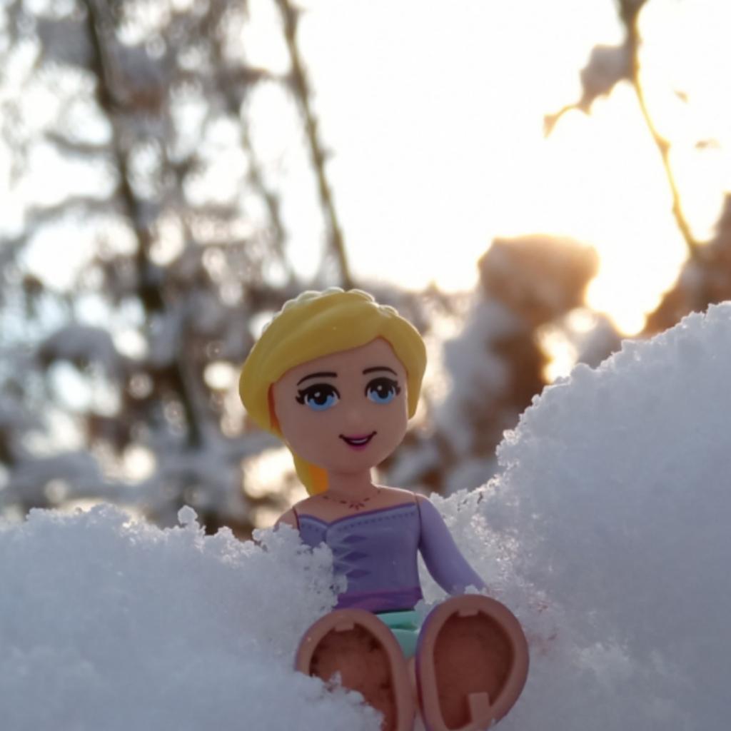 Kámošky na sněhu #1