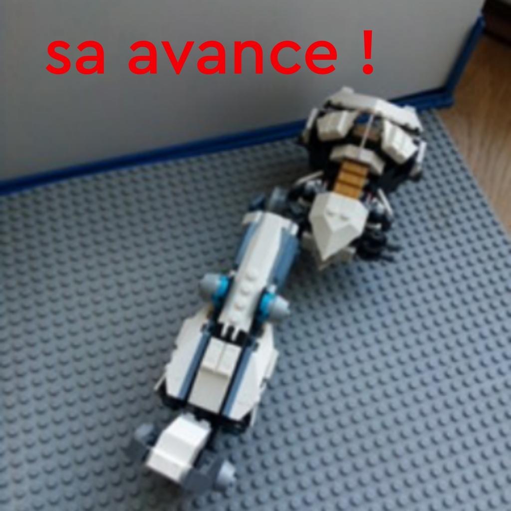 Sa avance le robot de zane