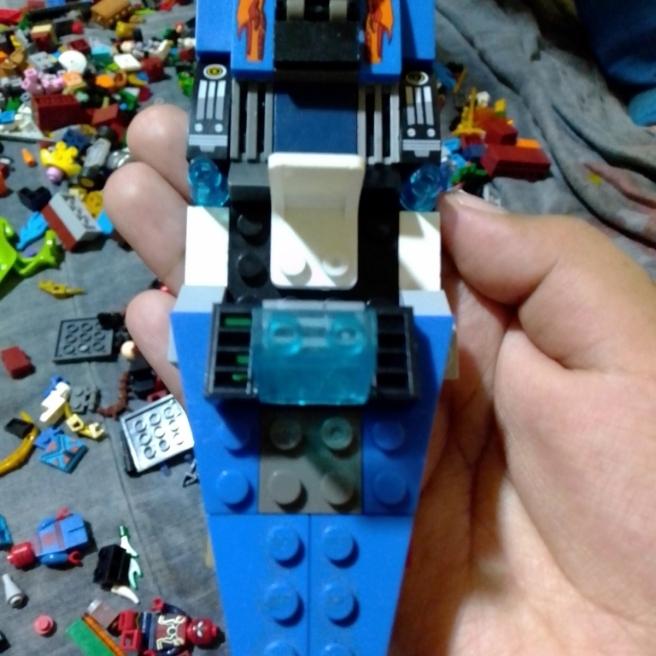 Una moto de agua de Lego