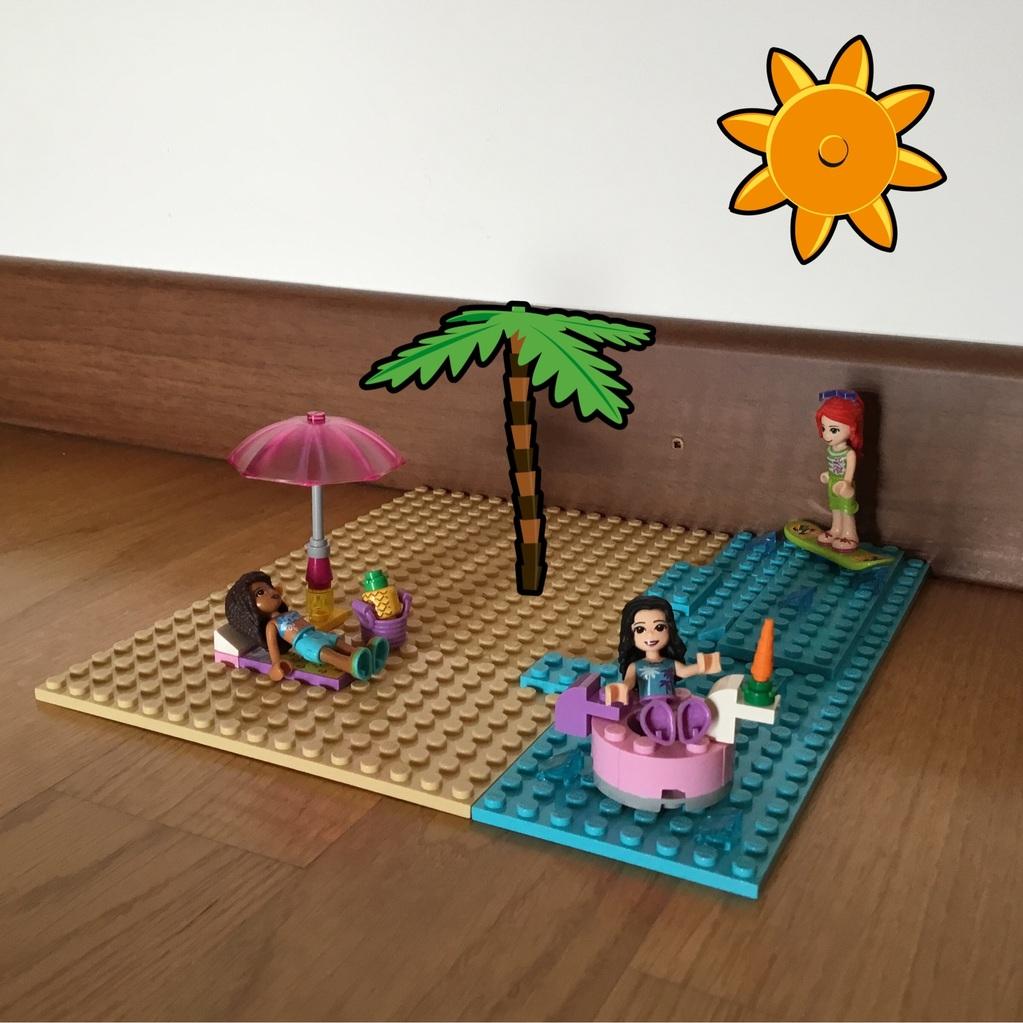 In vacanza con le lego 🏖