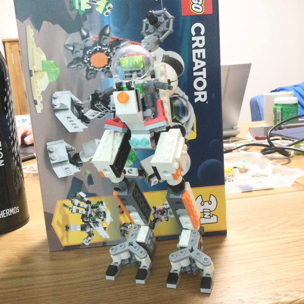 宇宙探索ロボット組み換え 1