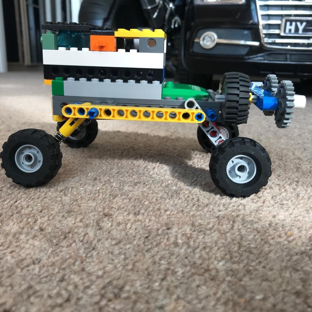 A Lego of road car