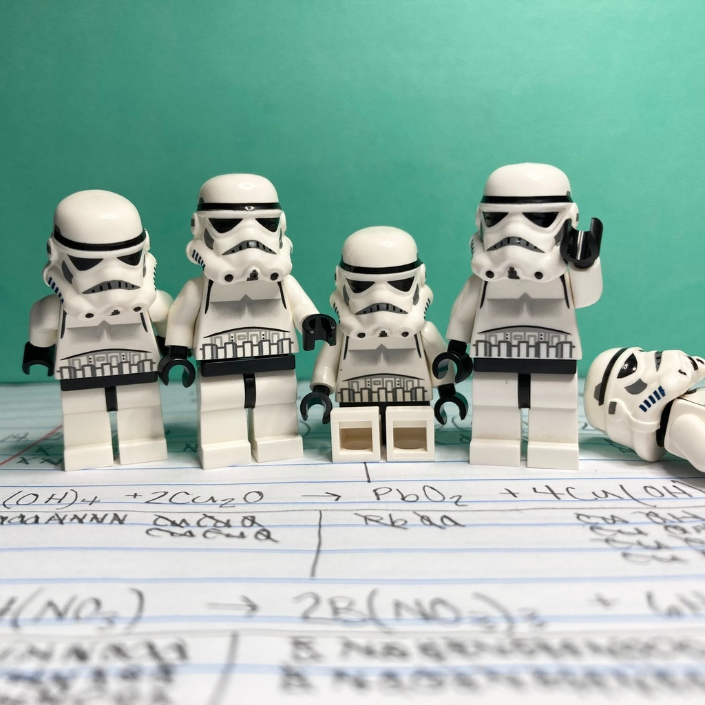 stormtroopers balance chemical equations