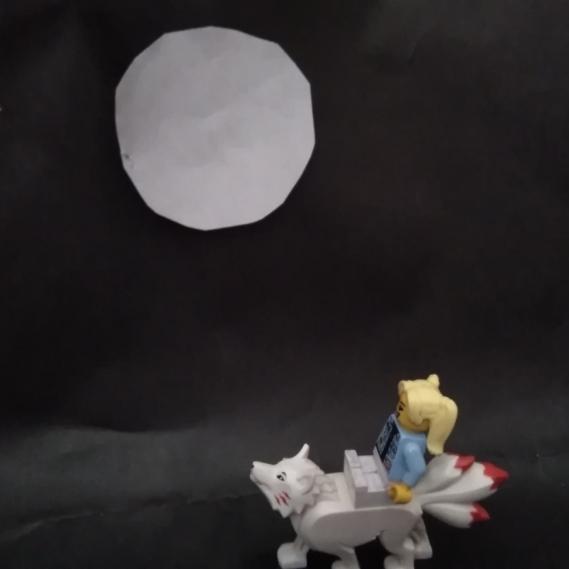 ~pleine lune, le temp des loups🌙~