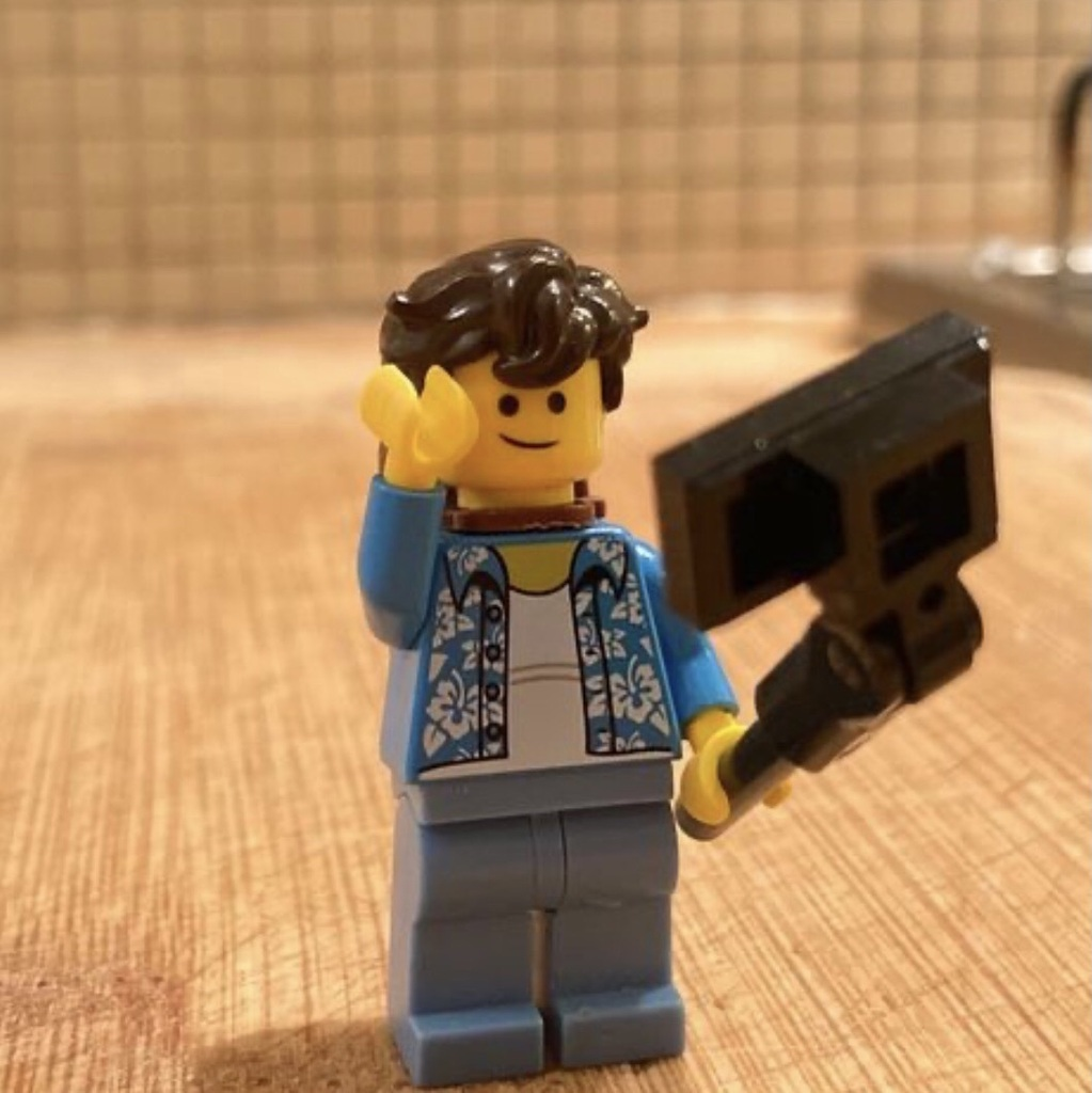 #lego foto selfie