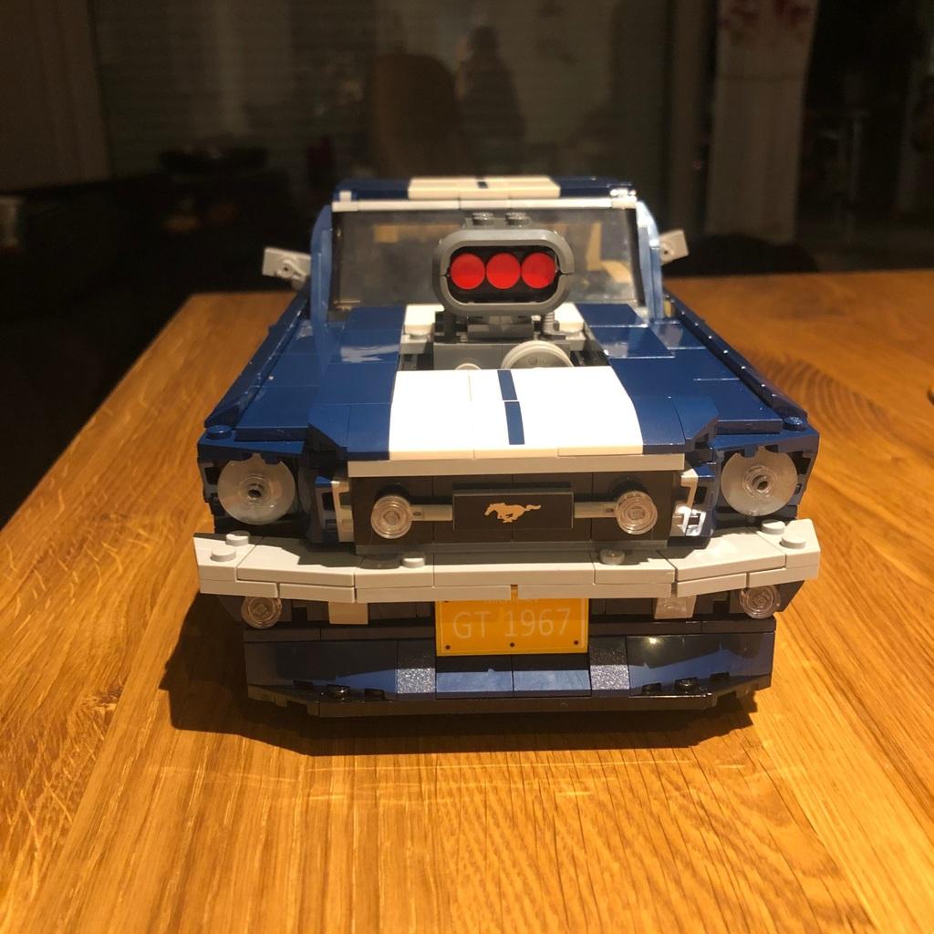 Wie versprochen Lego Fordmustang in ⬇️⬇️⬇️⬇️