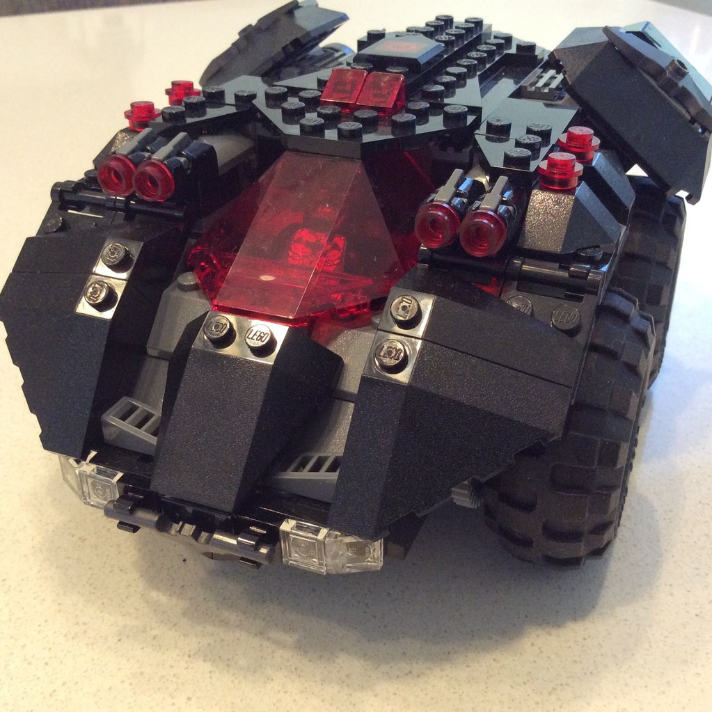 LEGO app control bat mobile