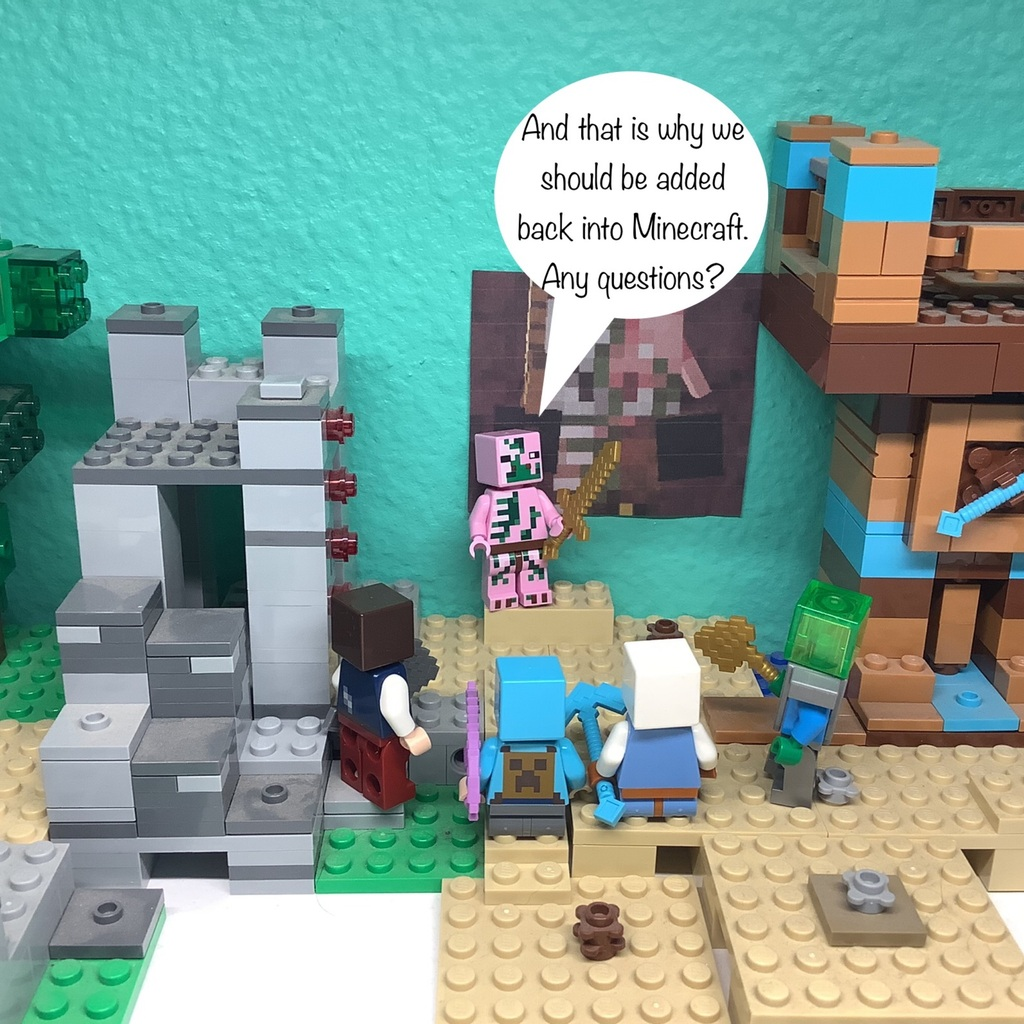 Minecraft Comic #1 Who Are You?