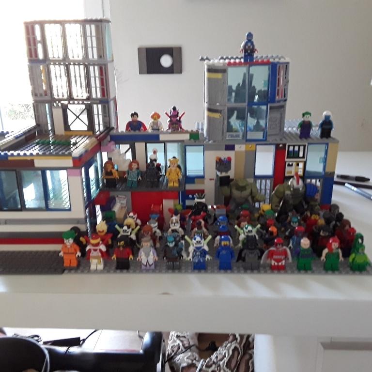 Tutti i miei 60 personaggi lego