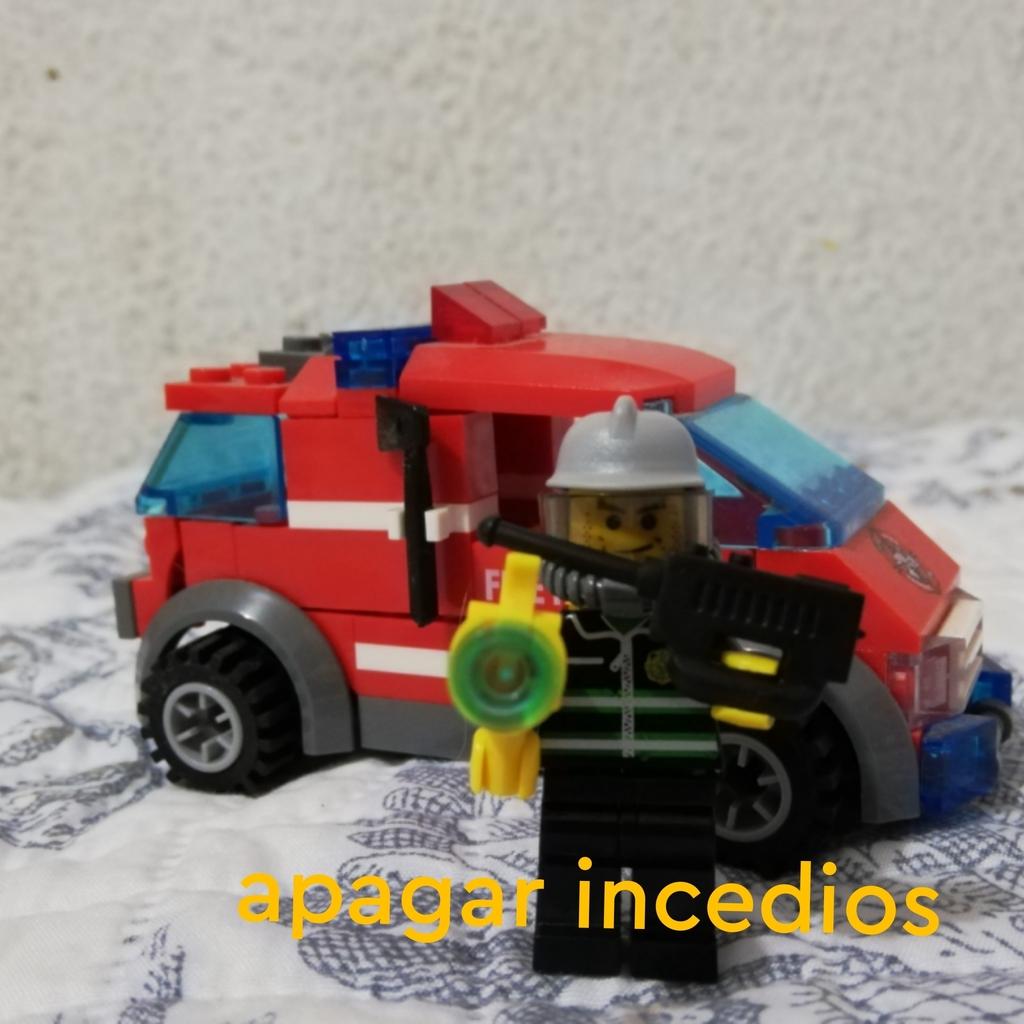 Un bombero