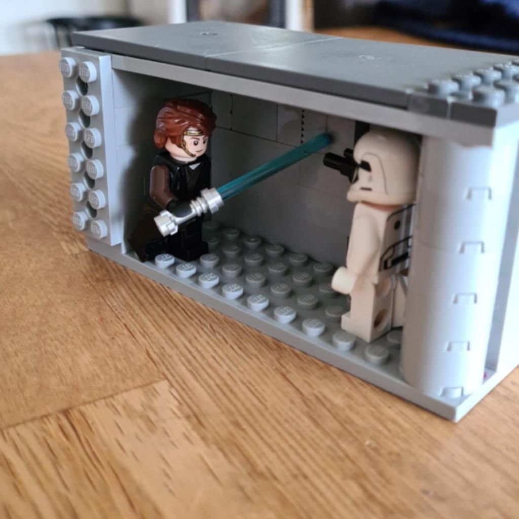 Anakin mot en stormtrooper