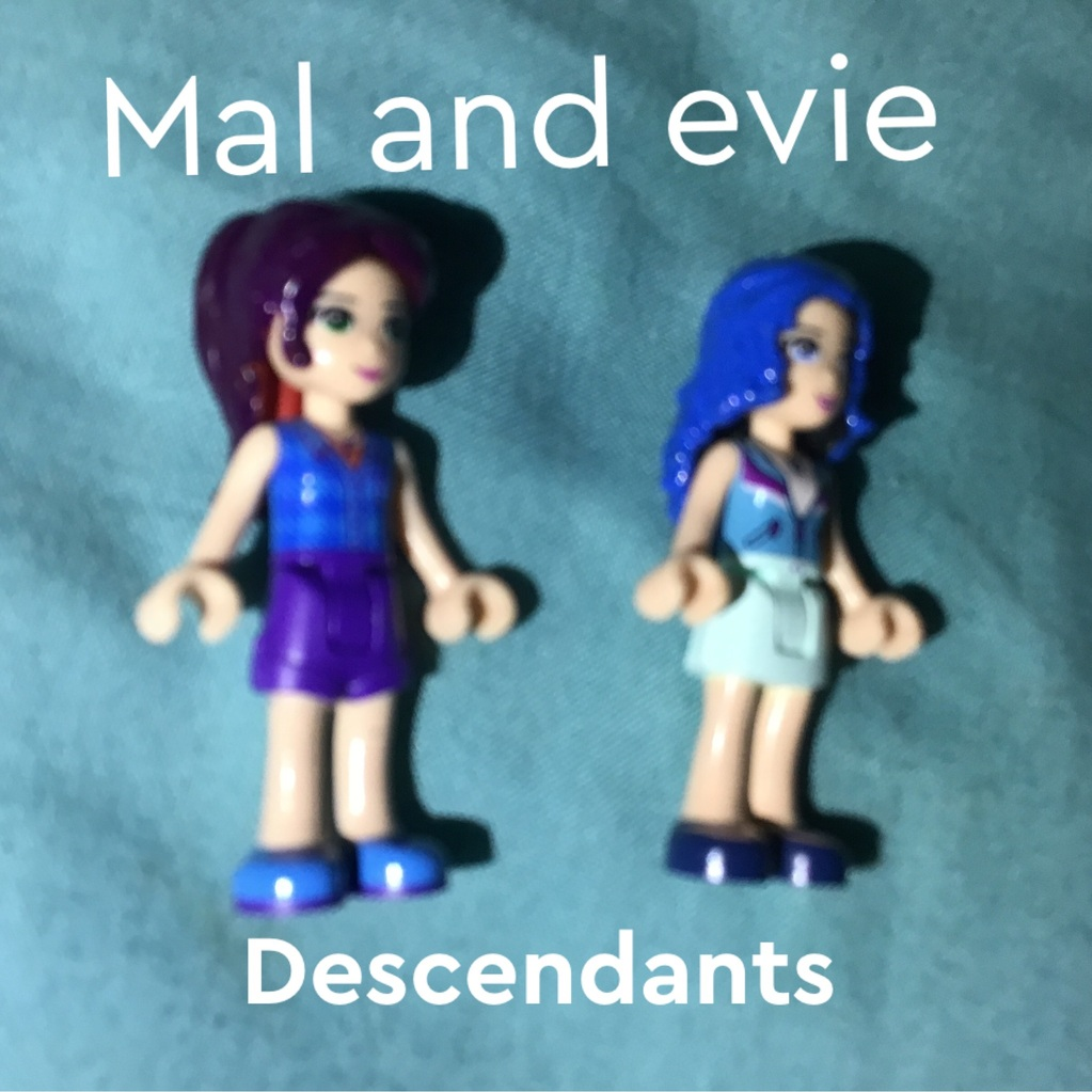 Do you know mal and Evie of descendants