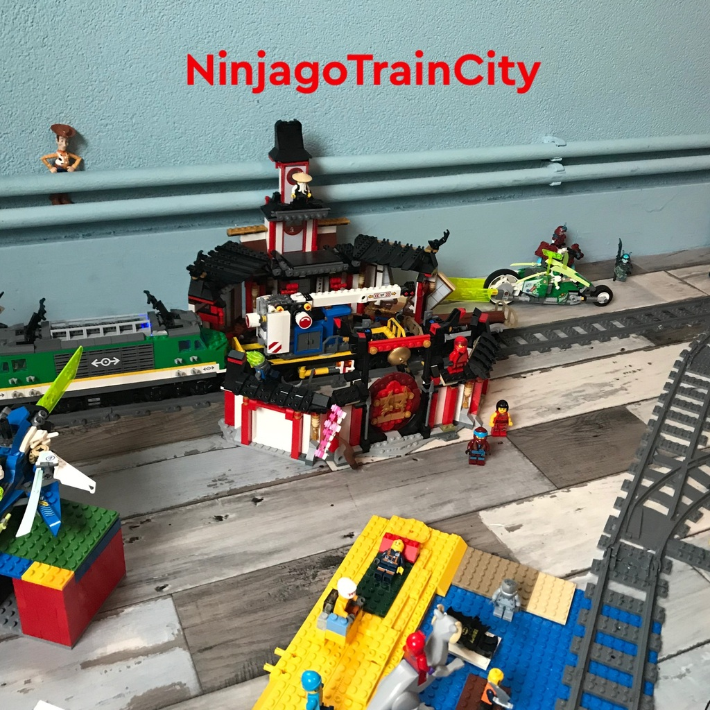 NINJAGO TreinStad/Train City