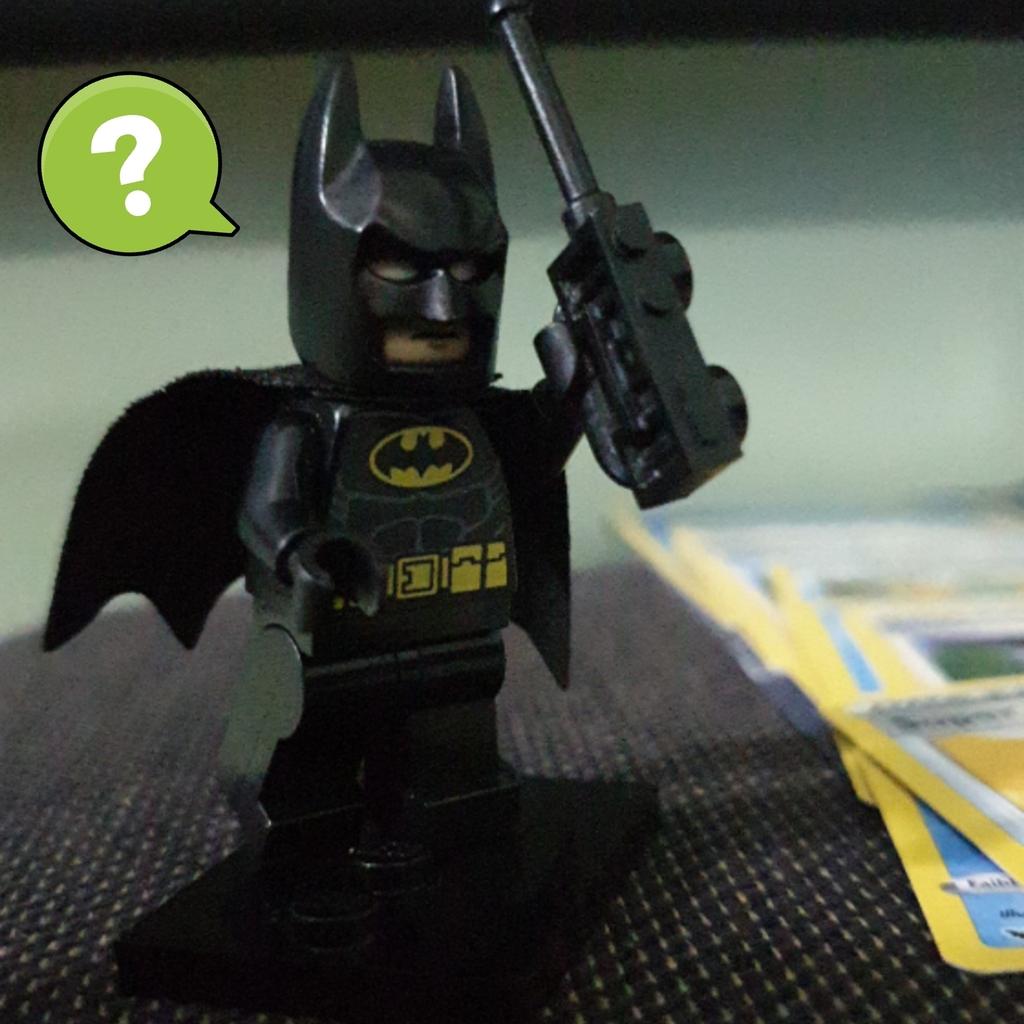 Batman triste ...