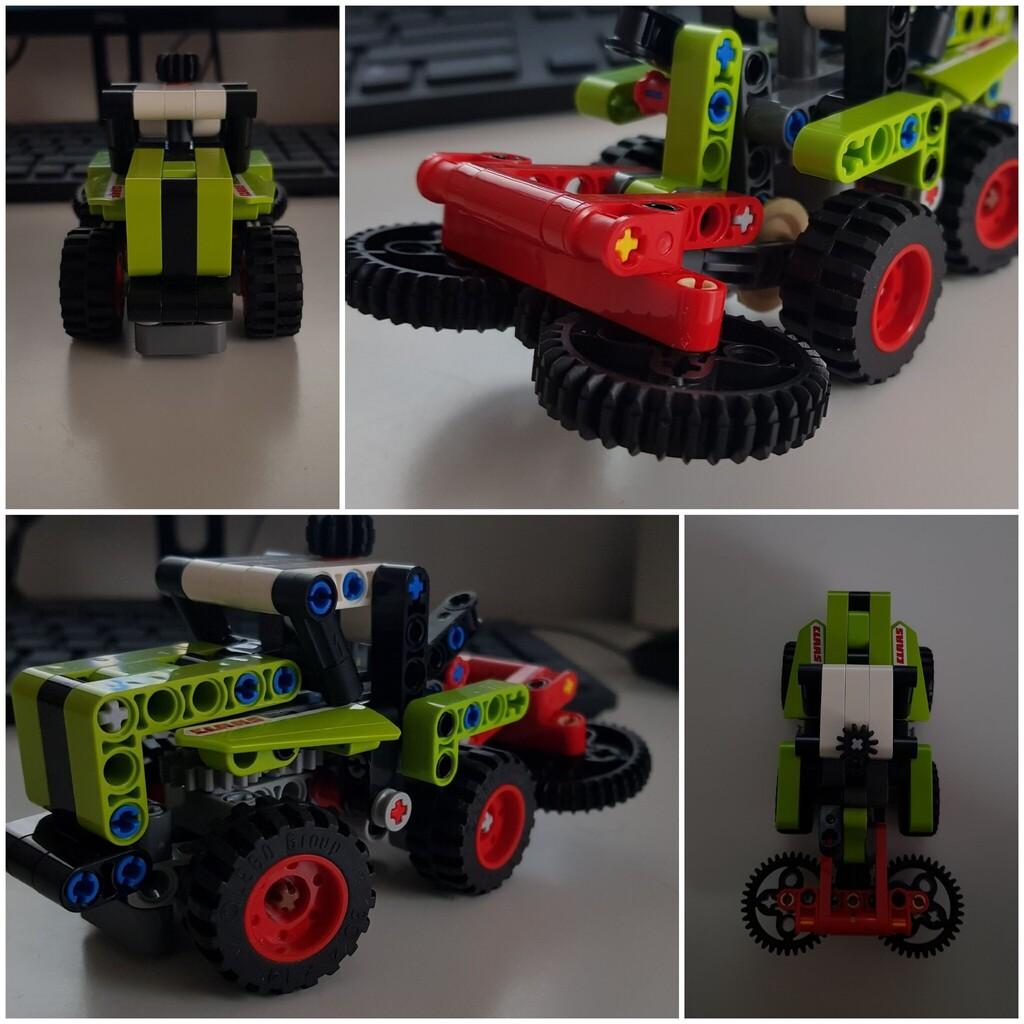 Lego Technic-Tractor CLAAS
