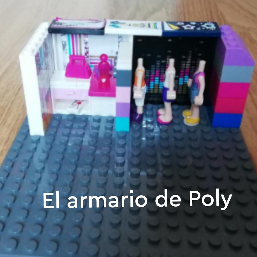Eh construido el armario de Poly