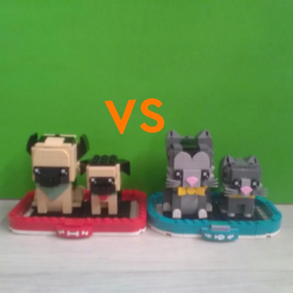 Lego BrickHeadz Koty🐈 VS Psy🐕