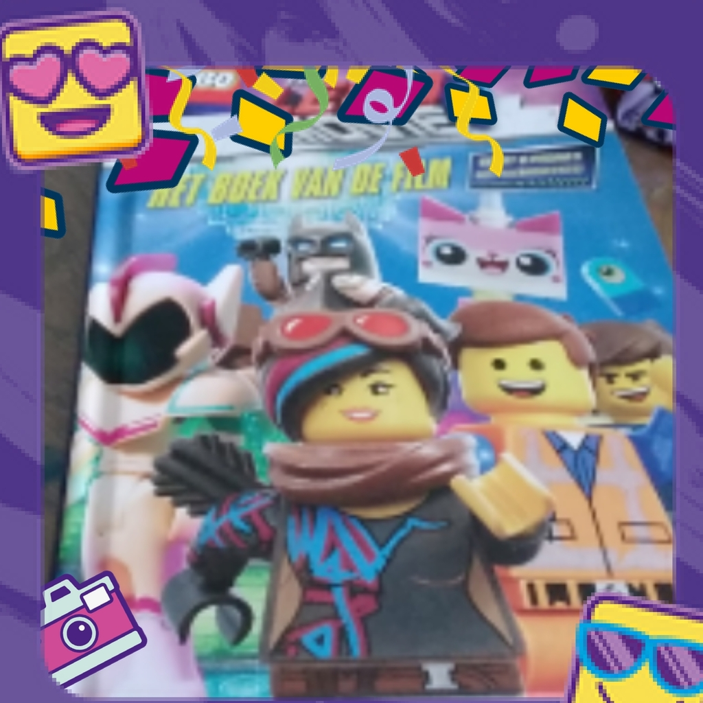 Lego movie boek
