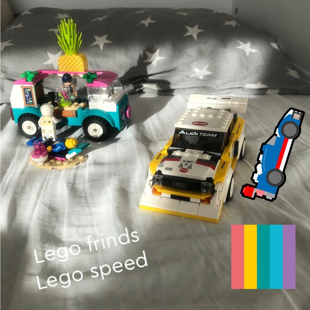Lego speed. Lego frinds