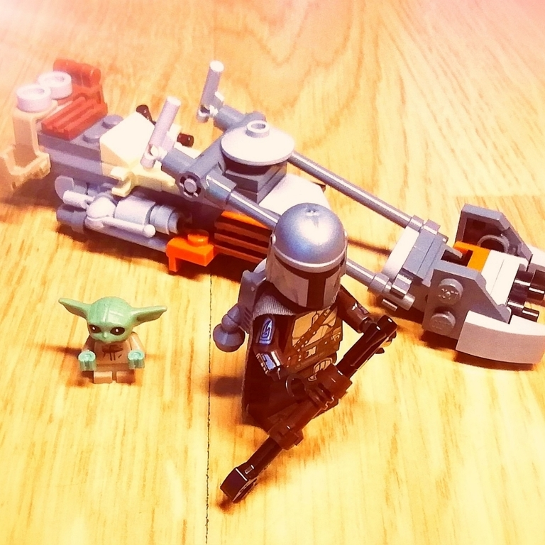 El jetpack del Mandaloriano