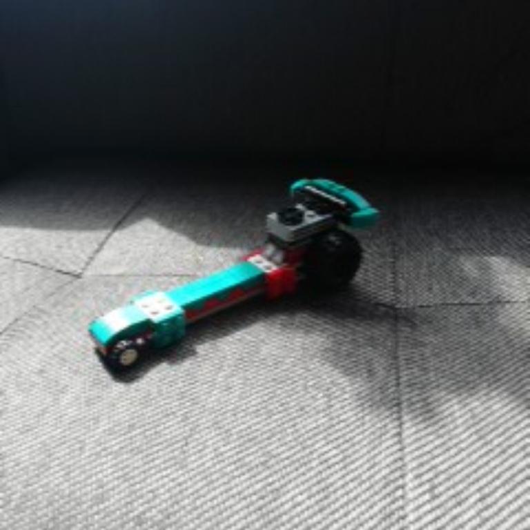 Un auto de carreras