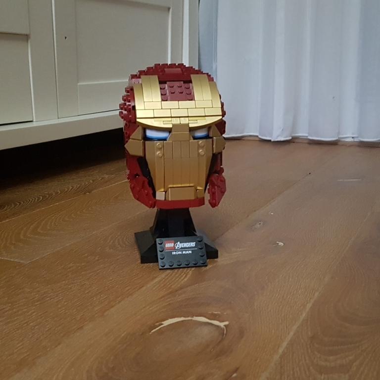 Mijn lego helm
