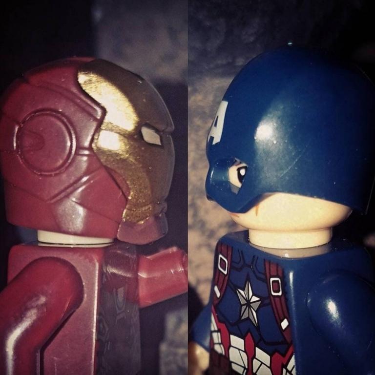 Lego pose, Civil War