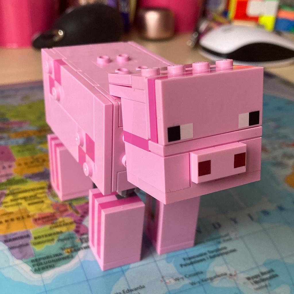 Świnka z Minecraft 🐷