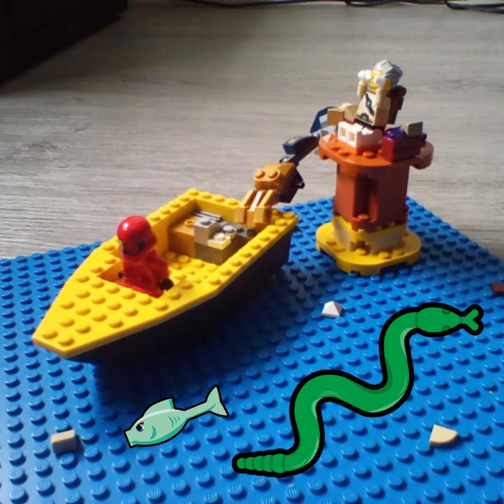 Boat ride away!