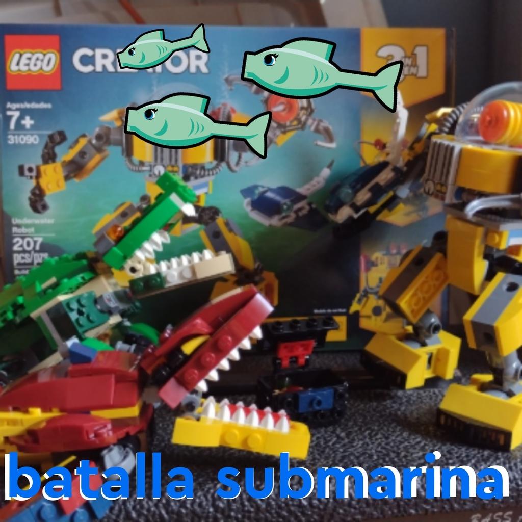 Batalla submarina 😱😱😱