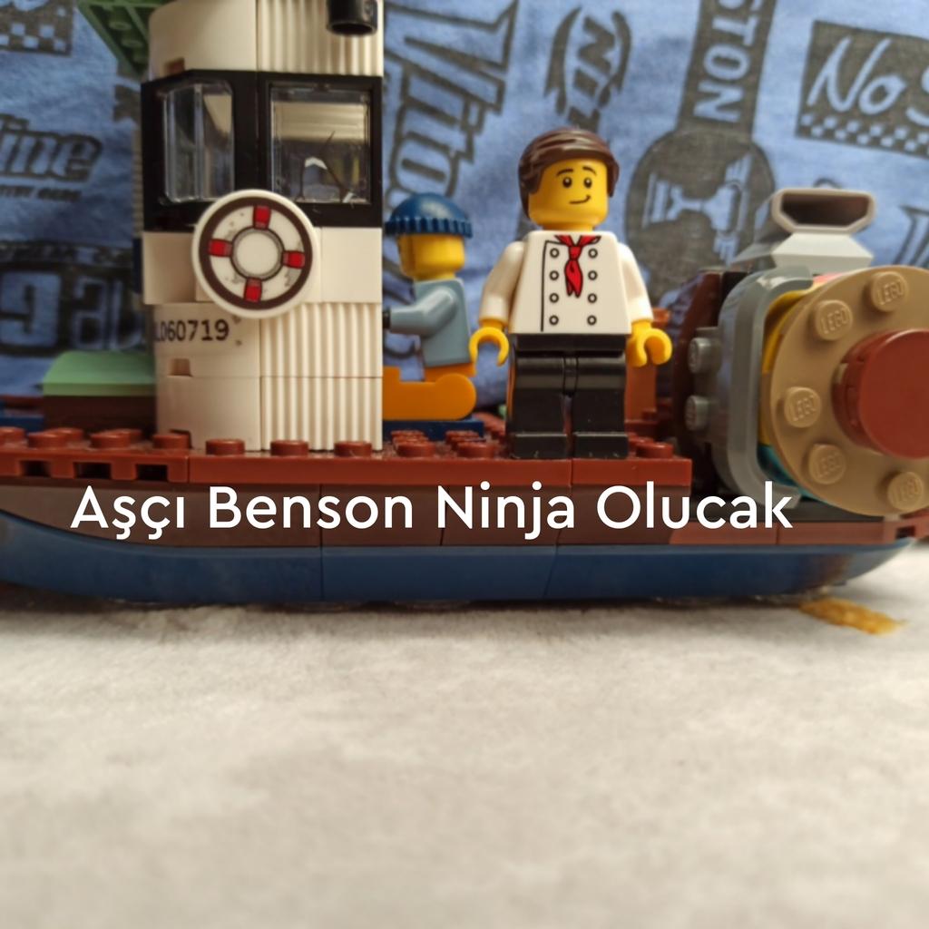 Aşçı Benson Yola çıkıyor