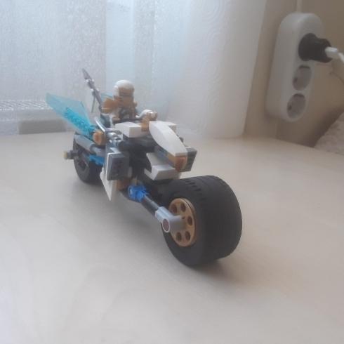 Zane'nin motorsikleti