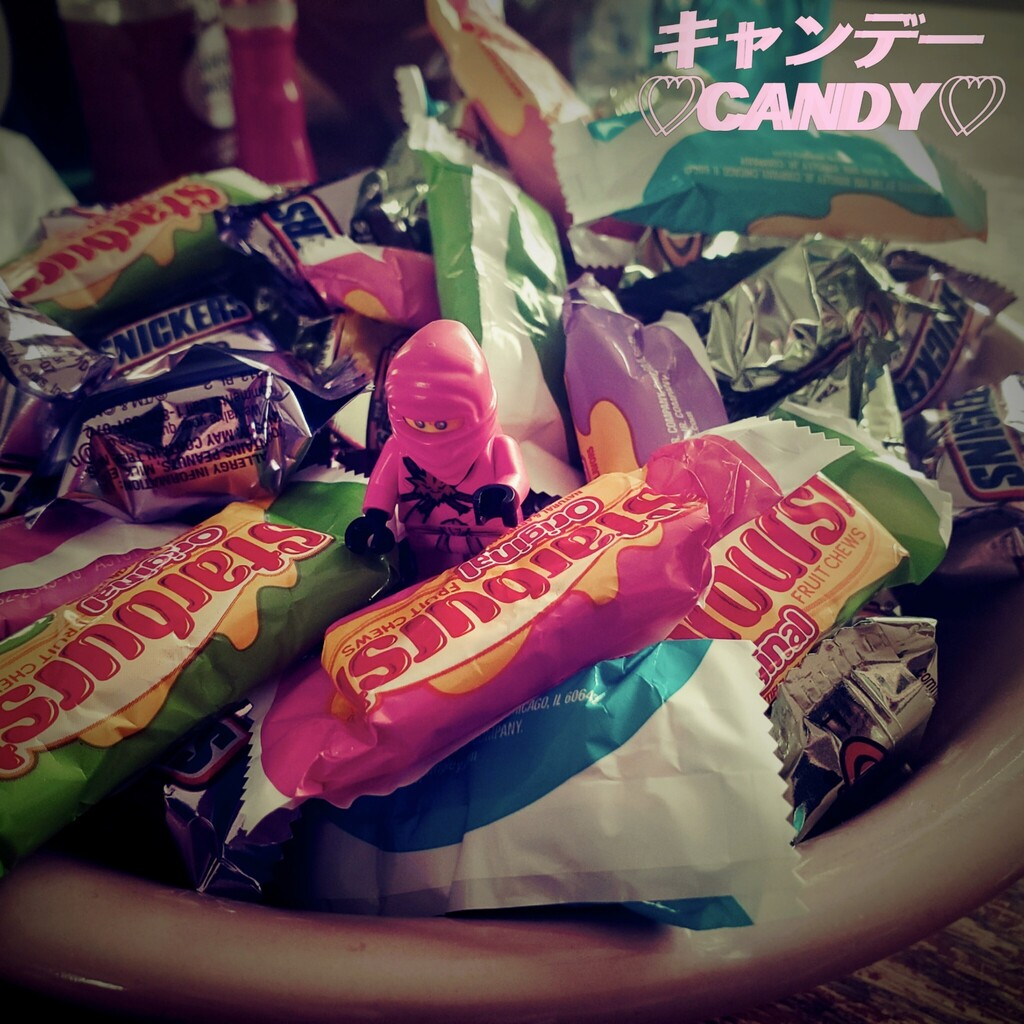 Zane...The candy Ninja!