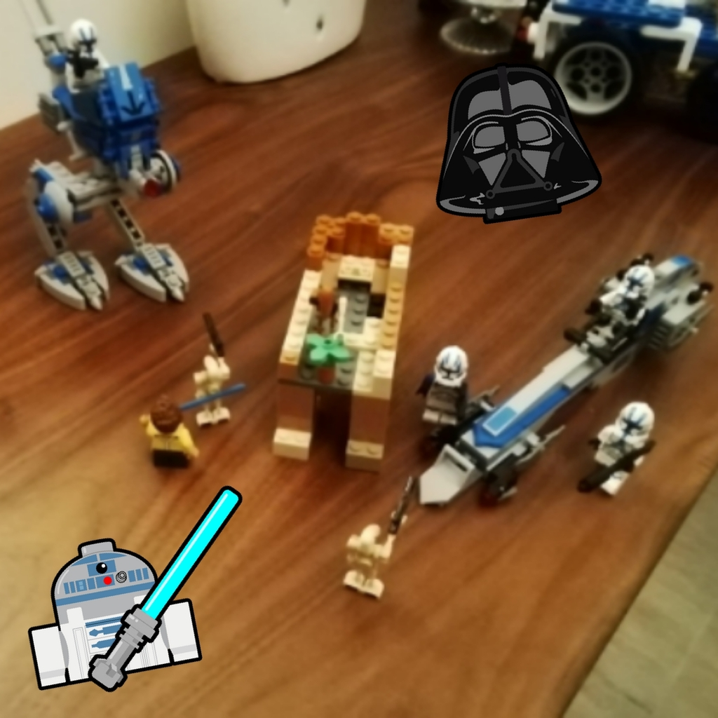 Lego Star wars clones vs droids