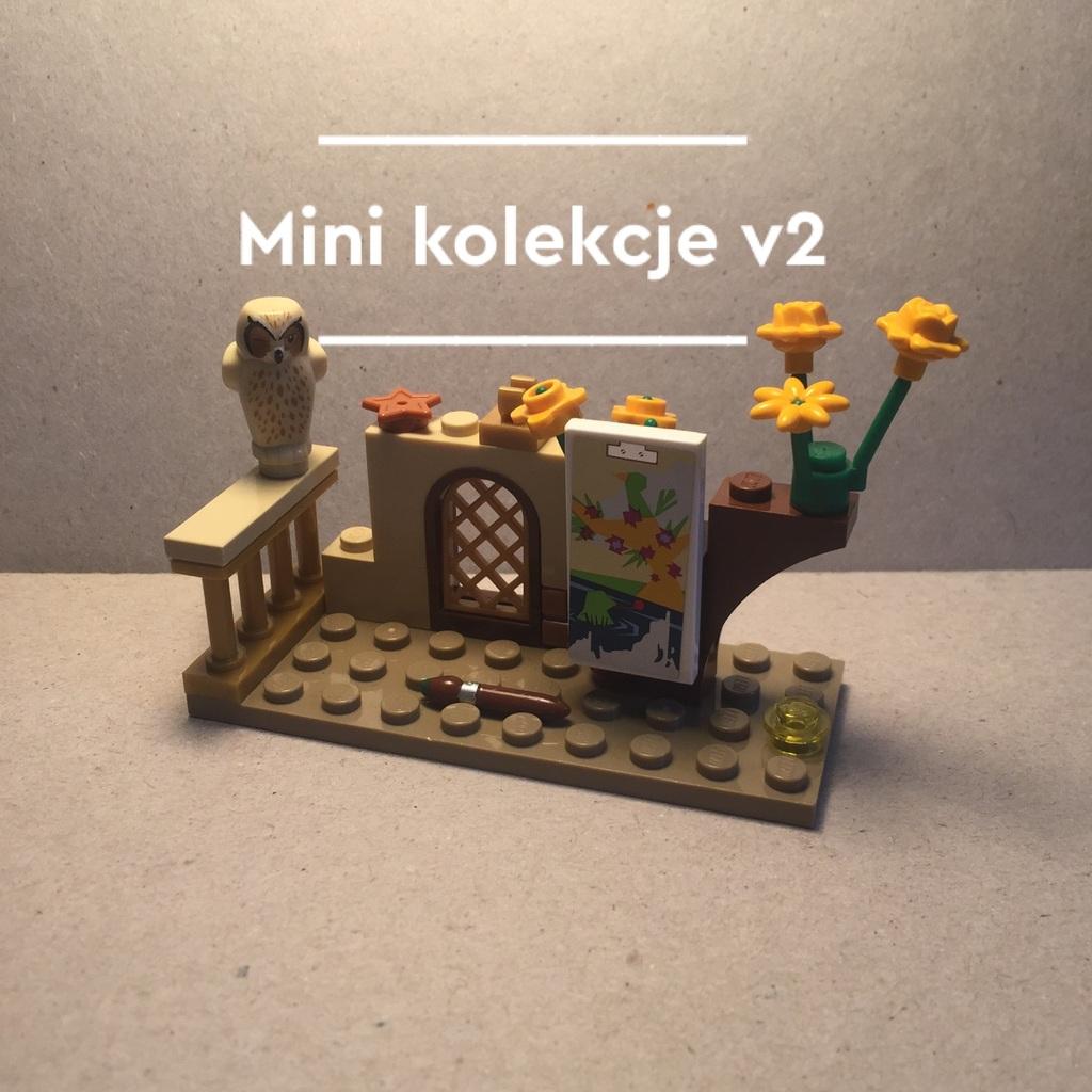 """Mini kolekcja """"drewniana sztaluga"""""""