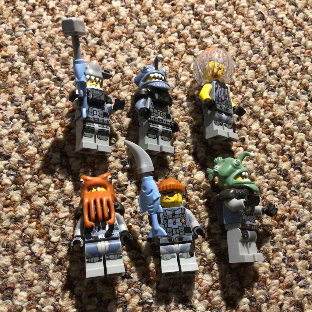 Some of my Ninjago Movie Villains!