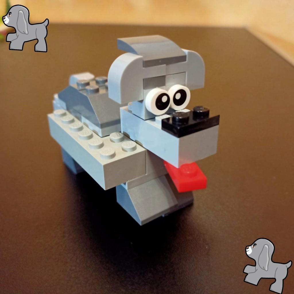 Zadanie Konstruktorskie - Śmieszny Pies